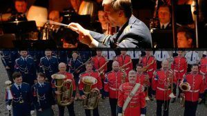 The Prague Castle Guard & Czech Police Band premieres 'Menu' in Czech Republic