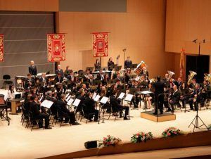 Flash, suite for wind band at the 40th Provincial Music Band Contest in Castellón