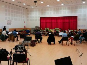 Conference in the course of conducting of the Diesis Academy
