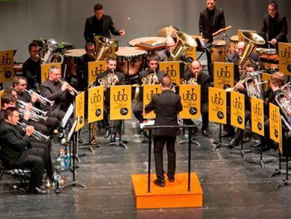 The Valencia Brass Band will premiere the Brass Band version of 'Menu'
