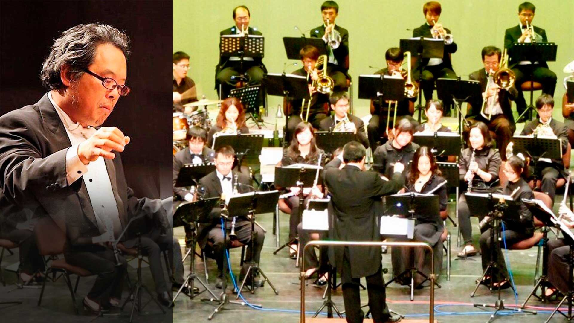 The HsinChu Municipal Wind Orchestra premieres 'Menu' in Taiwan