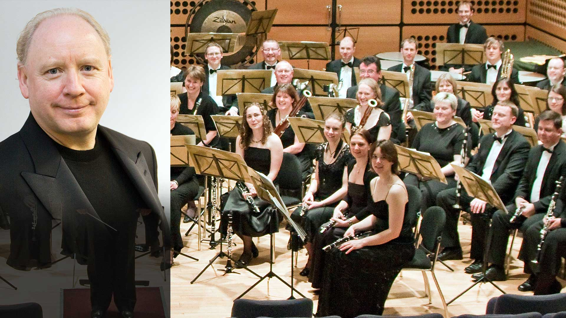 The Nottingham Symphonic Wind Orchestra premieres 'Menu' in United Kingdom