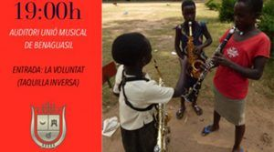 Flash, suite for wind band at Solidari Festival