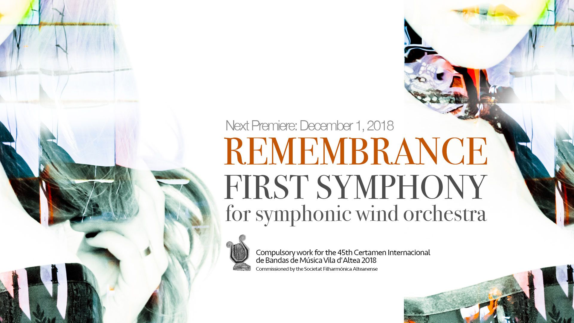 Remembrance symphony, premiere at CIM 'Villa de Altea' 2018
