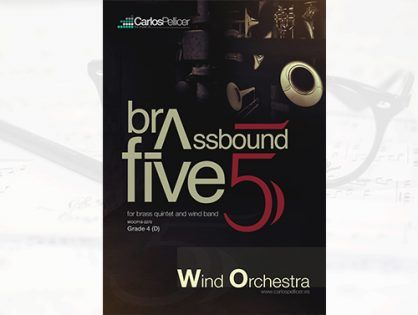 Brassbound Five, for brass quintet and concert band