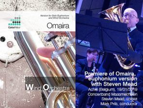 Omaira, new version for Euphonium & wind orch. (or piano)